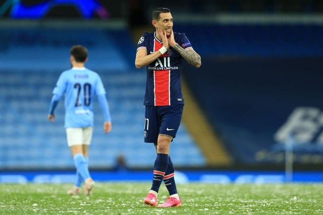 Man City 2-0 PSG: Cú đúp của Mahrez và Di Maria bị đuổi - 6