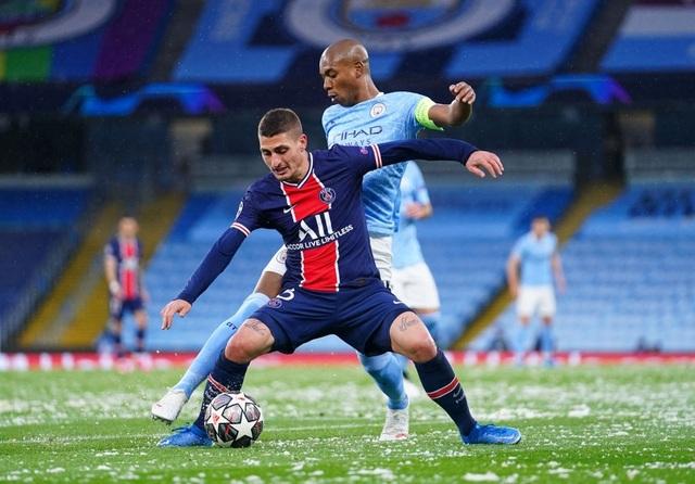 Man City 2-0 PSG: Cú đúp của Mahrez và Di Maria bị đuổi - 7