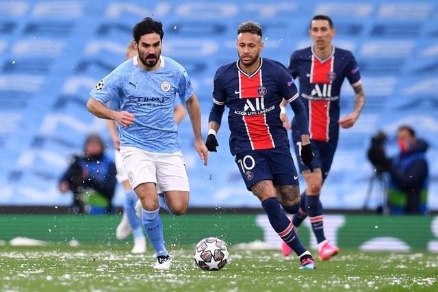 Man City 2-0 PSG: Cú đúp của Mahrez và Di Maria bị đuổi - 10