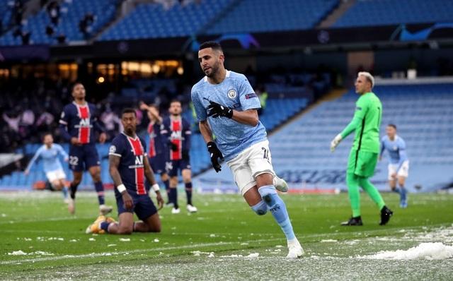 Man City 2-0 PSG: Cú đúp của Mahrez và Di Maria bị đuổi - 9