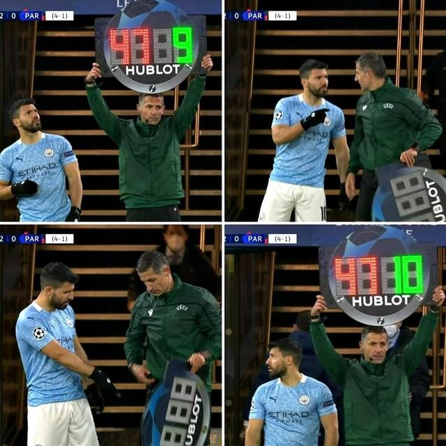 Tai nạn khó đỡ, cười ra nước mắt trong trận Man City - PSG - 1