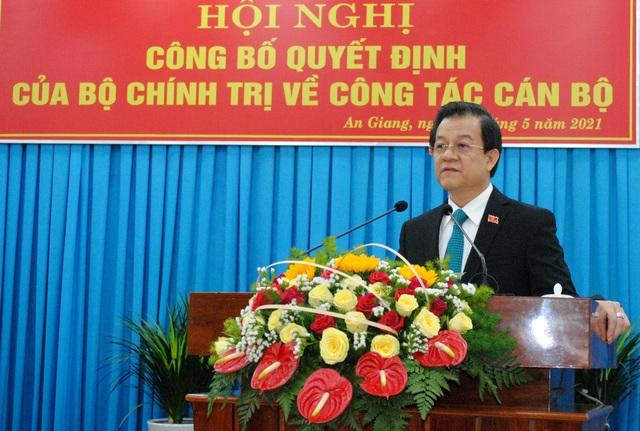 Phó Chánh án TAND tối cao làm Bí thư Tỉnh ủy An Giang - 2