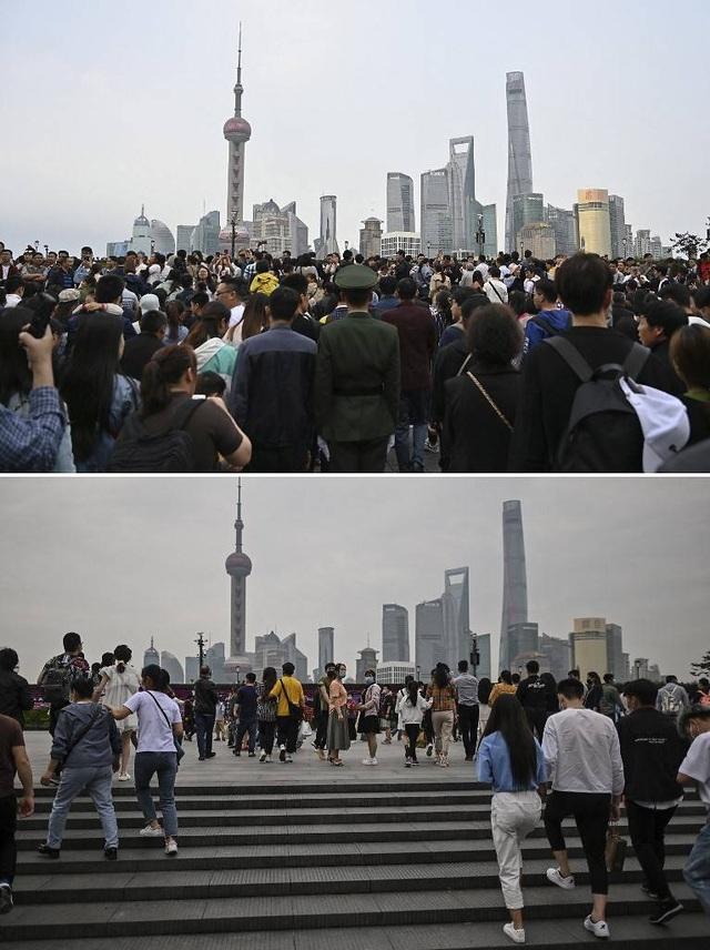 Choáng với biển người ùn ùn đi du lịch ở Trung Quốc - 2