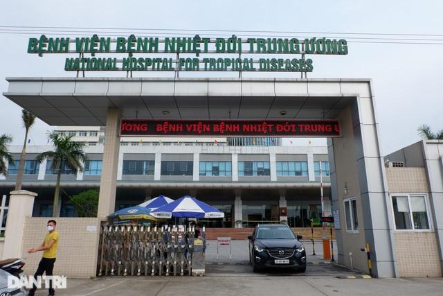 Phong tỏa Bệnh viện Bệnh Nhiệt đới Trung ương cơ sở Đông Anh - 3