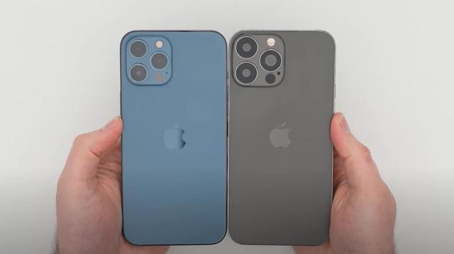 Lộ video thực tế mô hình mẫu của iPhone 13 Pro Max - 1