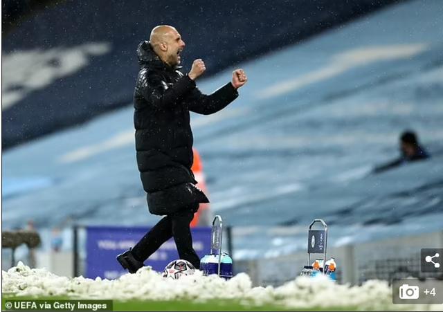 HLV Pep Guardiola: Chúng tôi chiến thắng PSG nhờ giữ được cái đầu lạnh - 2