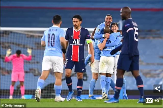 HLV Pochettino không tâm phục khẩu phục khi PSG thua Man City - 1