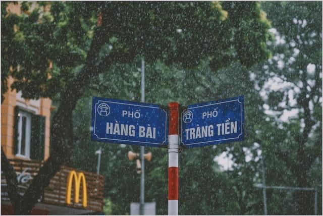 Khoảnh khắc đẹp trong cơn mưa lớn ở Hà Nội - 3