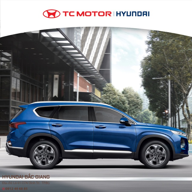 Điểm qua những thế mạnh của Hyundai SantaFe - 1