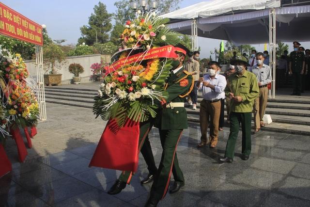 Quảng Trị: Truy điệu và an táng 24 hài cốt liệt sĩ hy sinh tại Lào - 3