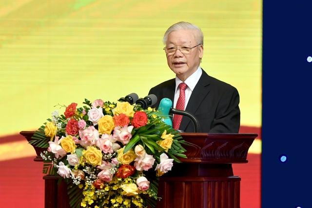 Tổng Bí thư Nguyễn Phú Trọng lưu ý 5 vấn đề của ngành ngân hàng - 1