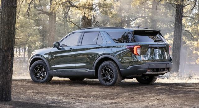Ford Explorer Timberline 2021 ra mắt, sẵn sàng cho những chuyến off-road - 2