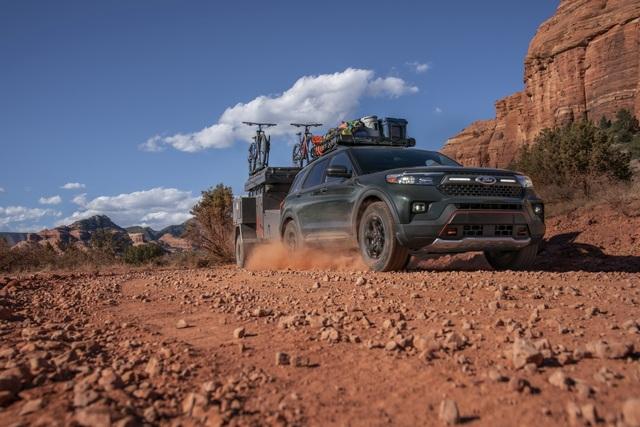 Ford Explorer Timberline 2021 ra mắt, sẵn sàng cho những chuyến off-road - 6
