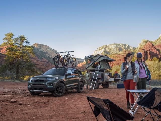 Ford Explorer Timberline 2021 ra mắt, sẵn sàng cho những chuyến off-road - 12