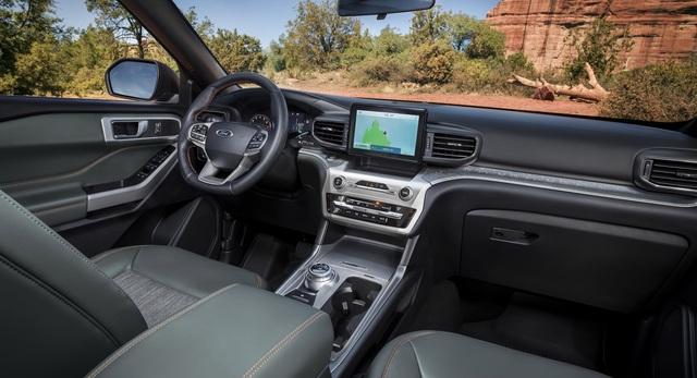 Ford Explorer Timberline 2021 ra mắt, sẵn sàng cho những chuyến off-road - 3