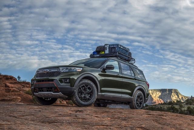 Ford Explorer Timberline 2021 ra mắt, sẵn sàng cho những chuyến off-road - 11