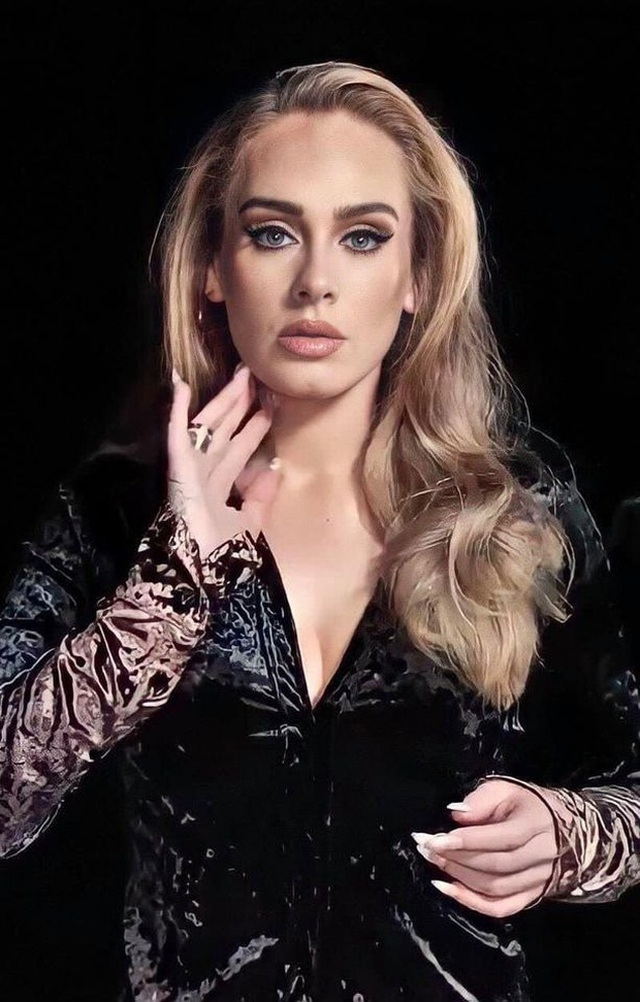 Họa mi nước Anh Adele tự tin khoe mặt mộc sau khi giảm cân sốc - 5