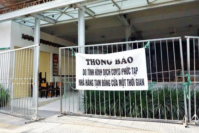 Đà Nẵng: Dừng hoạt động nhà hàng phục vụ ăn uống tại chỗ từ trưa 7/5 - 1