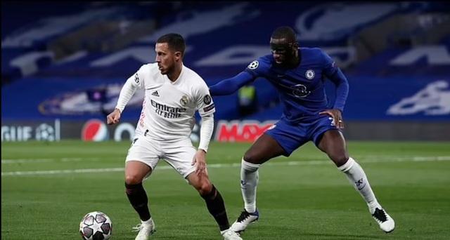 Eden Hazard ăn mừng khi Chelsea vào chung kết Champions League - 4