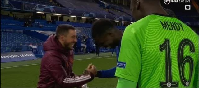 Eden Hazard ăn mừng khi Chelsea vào chung kết Champions League - 2