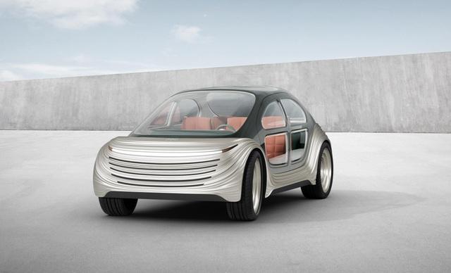 Lộ diện chiếc xe điện tự lái siêu tiện nghi, có khả năng lọc không khí - 1