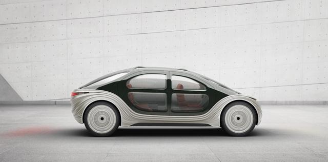 Lộ diện chiếc xe điện tự lái siêu tiện nghi, có khả năng lọc không khí - 5