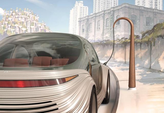 Lộ diện chiếc xe điện tự lái siêu tiện nghi, có khả năng lọc không khí - 6