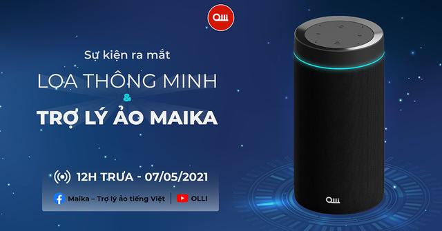 Ra mắt sản phẩm loa thông minh thuần Việt đầu tiên OLLI Maika - 2
