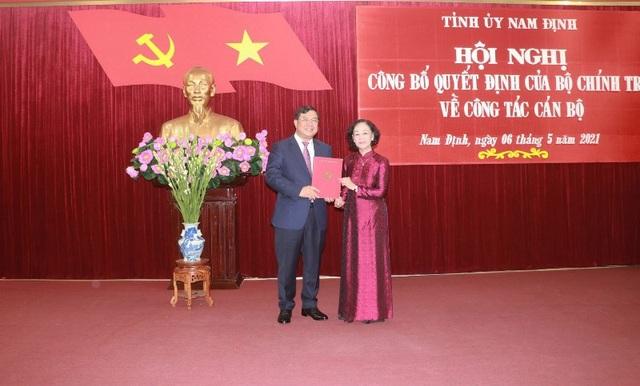 Ông Phạm Gia Túc làm Bí thư Tỉnh ủy Nam Định - 1
