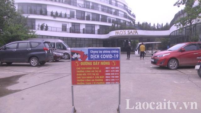 Phong tỏa khách sạn Paos Sapa, truy tìm được 91 F1 - 1
