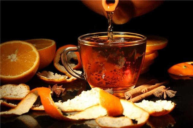 Tìm hiểu cách làm trà từ vỏ cam cực dễ - 1