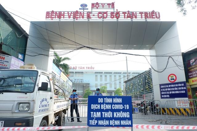 Đóng cửa 3 cơ sở Bệnh viện K, chùm ca bệnh liên quan đến BV Bệnh Nhiệt đới - 1