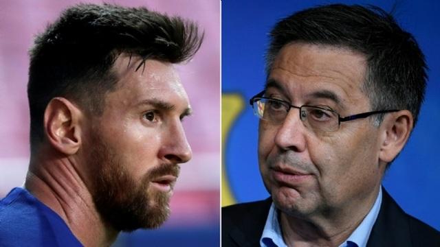 Messi gây sốc khi bị tố chửi thề cựu Chủ tịch Barcelona - 1