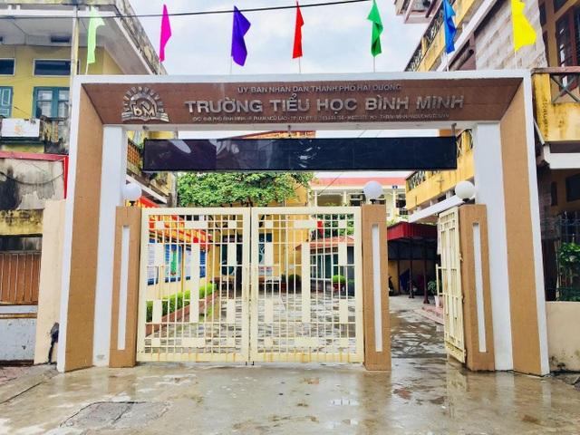 Hải Dương: 89 học sinh trường tiểu học Bình Minh phải cách ly tại nhà - 1