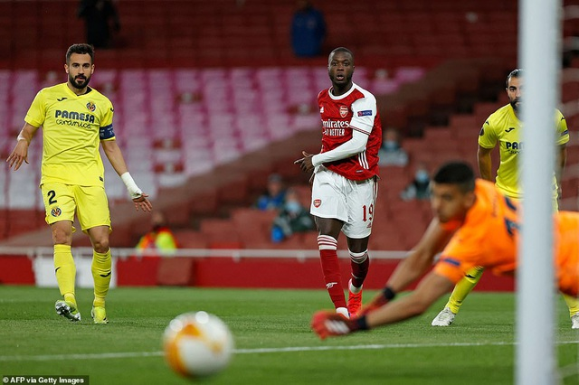 Bị loại bởi Villarreal, Arsenal lỗi hẹn với trận chung kết Europa League - 2