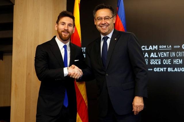 Messi gây sốc khi bị tố chửi thề cựu Chủ tịch Barcelona - 2