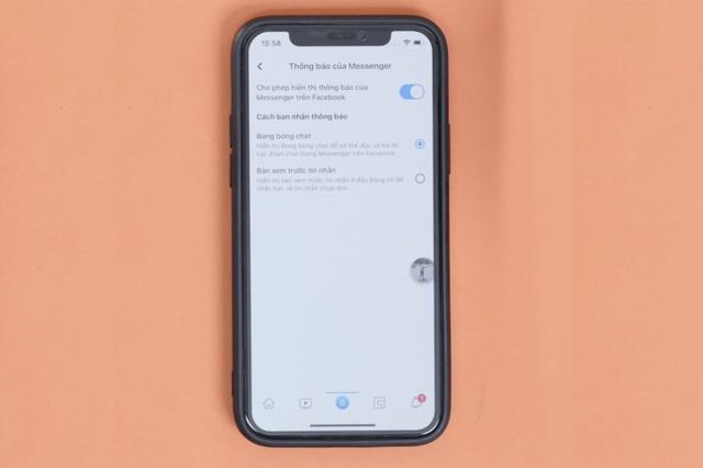 Đã có thể sử dụng bong bóng chat trên iPhone - 1