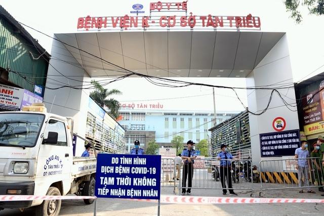 Thêm 2 bố con nhiễm SARS-CoV-2 ở Hải Dương, liên quan đến Bệnh viện K - 1