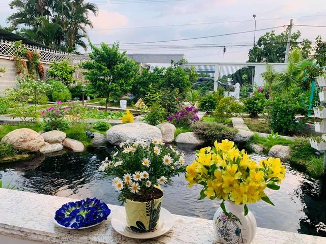Khu vườn 720m2 đẹp như resort thu nhỏ người chồng tặng vợ ở Đồng Nai - 3