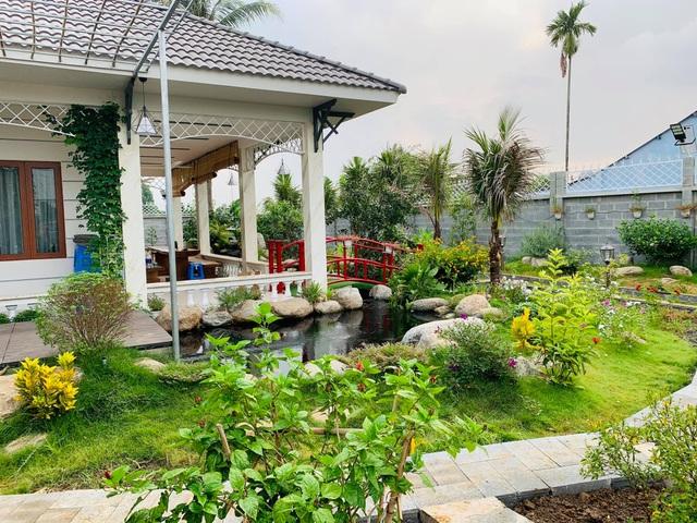 Khu vườn 720m2 đẹp như resort thu nhỏ người chồng tặng vợ ở Đồng Nai - 1