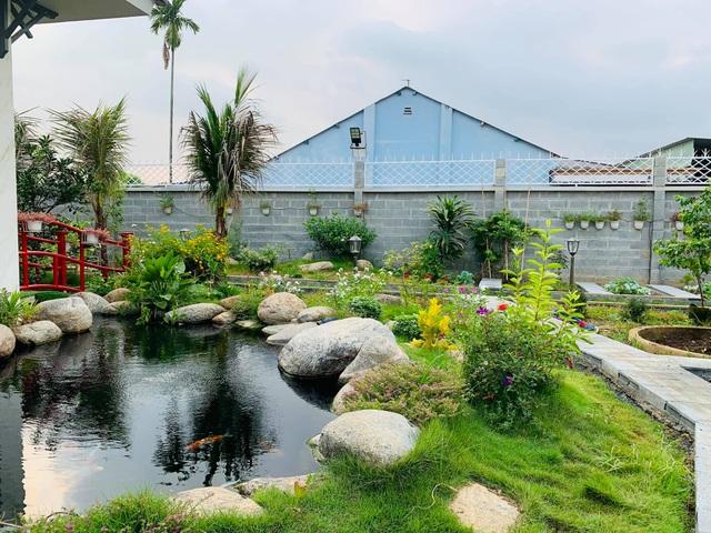 Khu vườn 720m2 đẹp như resort thu nhỏ người chồng tặng vợ ở Đồng Nai - 2