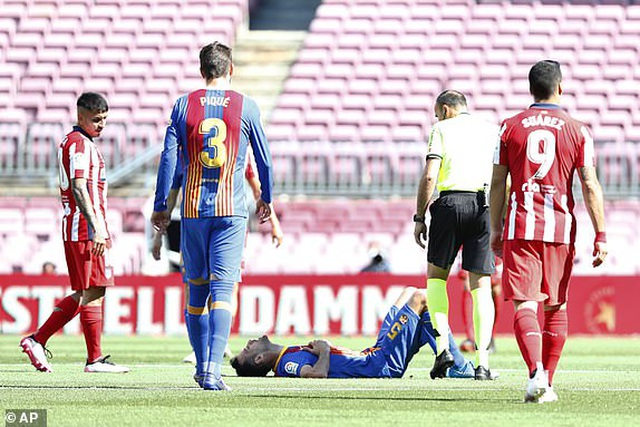 Messi và Suarez tịt ngòi, Barcelona bất phân thắng bại với Atletico - 13