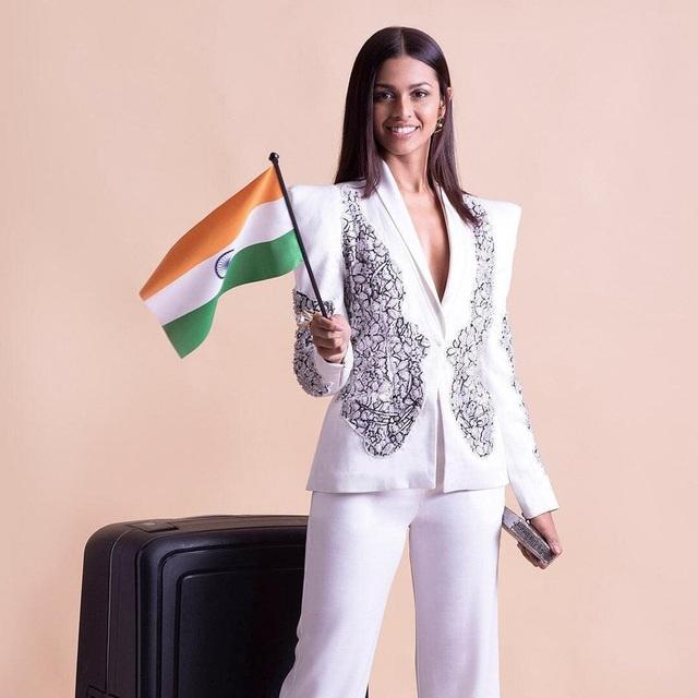 Nhan sắc và bản lĩnh của người đẹp Ấn Độ tại Hoa hậu Hoàn vũ 2020 - 11