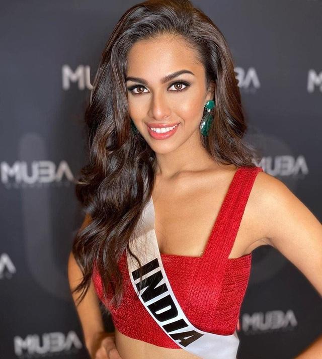 Nhan sắc và bản lĩnh của người đẹp Ấn Độ tại Hoa hậu Hoàn vũ 2020 - 2