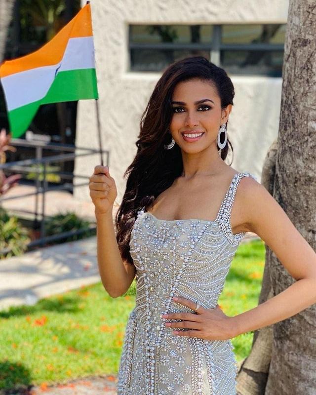 Nhan sắc và bản lĩnh của người đẹp Ấn Độ tại Hoa hậu Hoàn vũ 2020 - 7