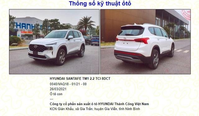 Hyundai SantaFe 2021 sắp bán tại Việt Nam, cân kèo với Kia Sorento - 1