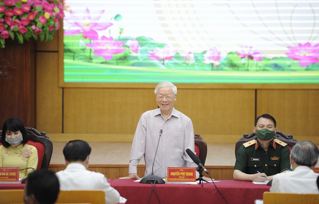 Tổng Bí thư: Tôi nói trước các nguyên thủ là Việt Nam không thua kém ai - 3