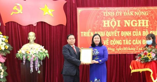 Phó Ban Dân vận Trung ương làm Phó Bí thư tỉnh Đắk Nông - 1
