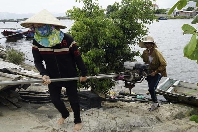 Bình Định: Mưu sinh nghề cào phễnh, vẹm ven đầm Thị Nại - 2