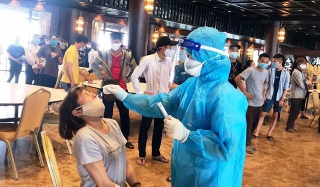 78/88 trường hợp F1 của nhân viên y tế chùa Tam Chúc có kết quả âm tính - 1